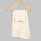 Simon Skottowe - Linen/Cotton 'Two Pleat' Trousers off white