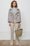 side buttoned jacket - madras