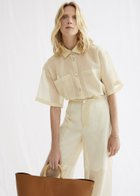 LINDA loose fit short sleeve shirt