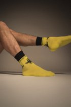 SAFFRON YELLOW SOCKS