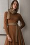 ROGA DRESS - CAMEL