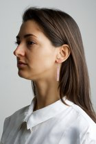 COLLECTION - A / STRUCTURE 1. / matt-basic / earring pink