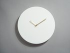 TIMELESS / wall clock / L white
