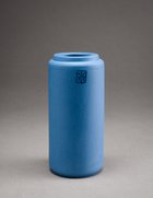 COLLECTION-A / VASE S / MATT dark blue/matt