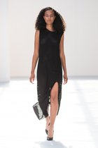 Freja tank top dress with slit