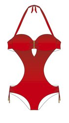 ROME one-piece swimsuit - S777