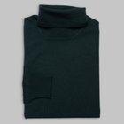 Gran Sasso - Merino wool slim rollneck dark green