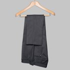 Wool cover trousers dark grey