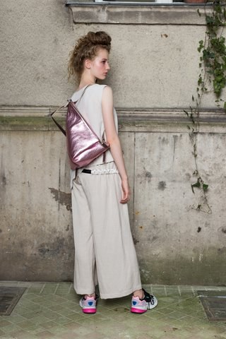 Hanna trousers   Delta backpack