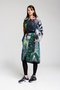 HOODED FOREST coat - Printed hooded coat
