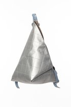 DELTA BACKPACK White silver