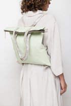 FLAT B BACKPACK Off white stitched