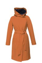GERTRUD winter coat caramel-blue