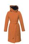 GERTRUD winter coat - caramel-blue