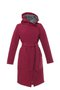 GERTRUD winter coat - cyclamen-gray