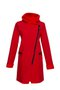 FIODA coat - cherry red