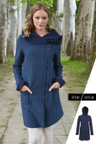 FIODA coat dark blue