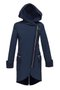 FABIANA coat - dark blue