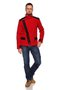 FREDERIK jacket - red-black