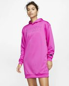 W NSW AIR HOODIE DRESS PK FIRE PINK/MA