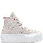 CHUCK TAYLOR ALL STAR EXTRA HIGH PLATFORM PALE PUTTY/PRIME PINK/WHITE